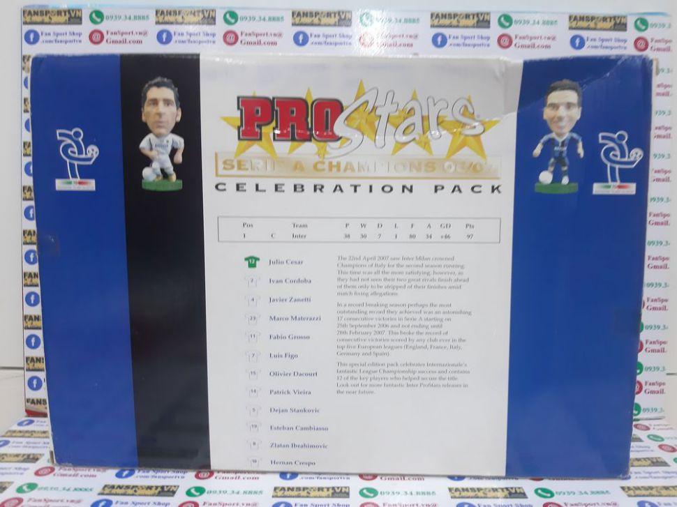Box Inter Milan 2006-2007 Seriea Champion 2006-2007 pack corinthian