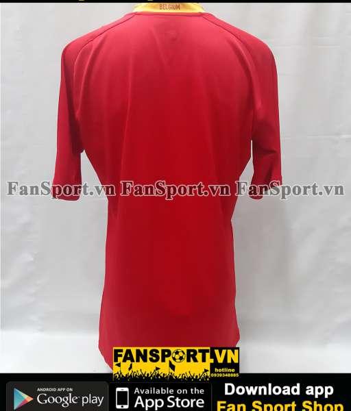 Áo đấu Belgium 2008-2009 home player issue shirt jersey red orange