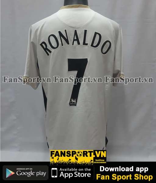 Áo Ronaldo 7 Manchester United 2006-2007-2008 away third shirt jersey