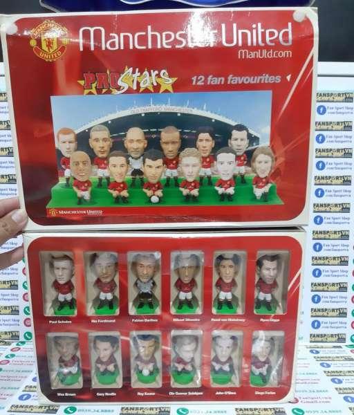 Bộ tượng Manchester United 2002-2003-2004 box prostars fan favourites