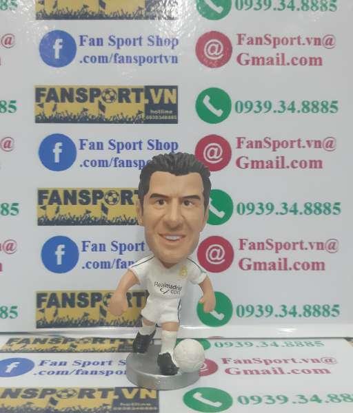Tượng Luis Figo #10 Real Madrid 2004-2005 home white pocket sport