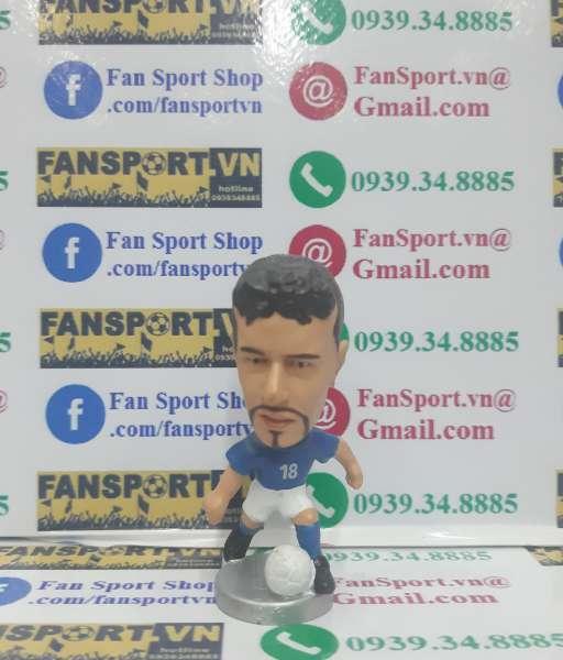 Tượng Roberto Baggio 18 Italy 2000-2001-2002 home blue pocket sport