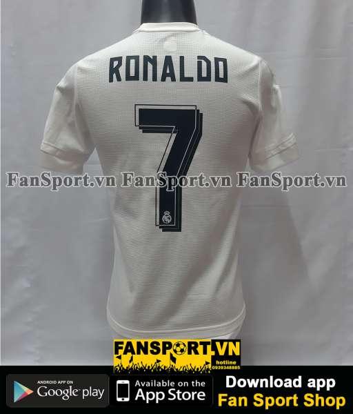 Áo Ronaldo 7 Real Madrid Champion League final 2016 home shirt 2015