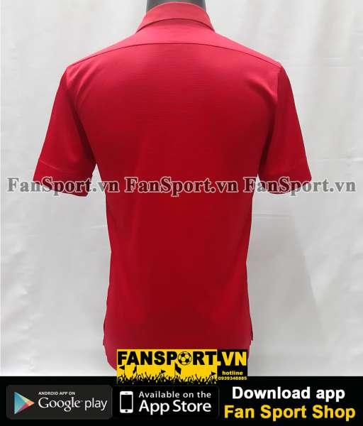 Áo đấu England 2013-2014 away shirt jersey red