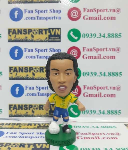 Tượng Ronaldinho 10 Brazil 2004-2005-2006 home corinthian figure