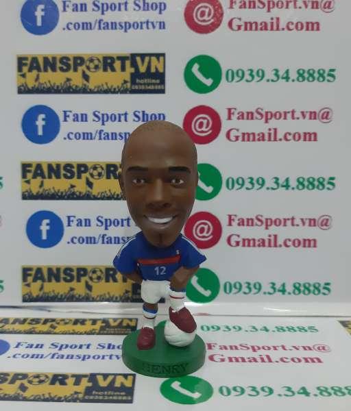 Tượng Thierry Henry 12 France 2004-2005-2006 home corinthian figure