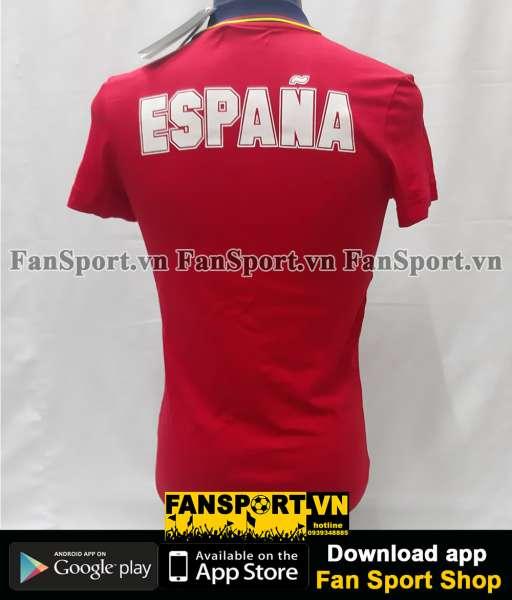 Áo Spain 1994-1995-1996 home shirt jersey red T-Shirt