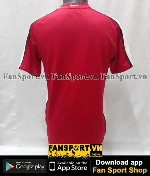 Áo đấu Arsenal 2008-2009-2010 home shirt jersey red