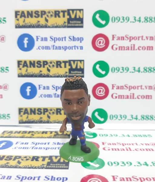 Tượng Alex Song 25 Barcelona 2012-2013 home soccerstarz figure
