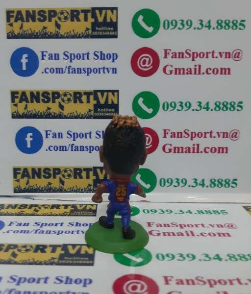 Tượng Alex Song 25 Barcelona 2012-2013 home soccerstarz figure