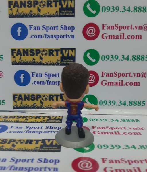 Tượng Andres Iniesta 8 Barcelona 2012-2013 home soccerstarz figure