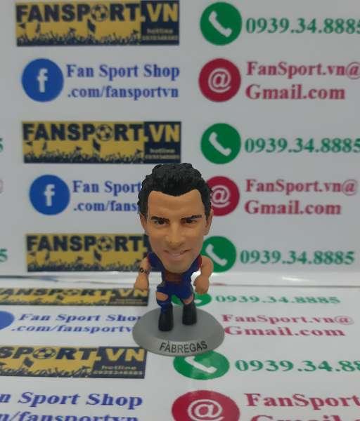 Tượng Cesc Fabregas 4 Barcelona 2012-2013 home soccerstarz figure