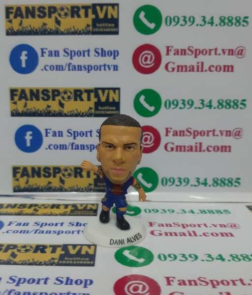 Tượng Dani Alves 2 Barcelona 2012-2013 home soccerstarz figure
