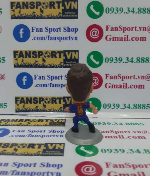 Tượng Jordi Alba 18 Barcelona 2012-2013 home soccerstarz figure