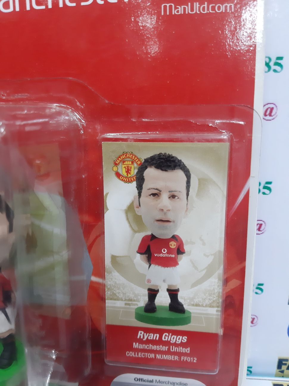 Tượng Giggs 11 Manchester United 2002-2003-2004 home fan favourites