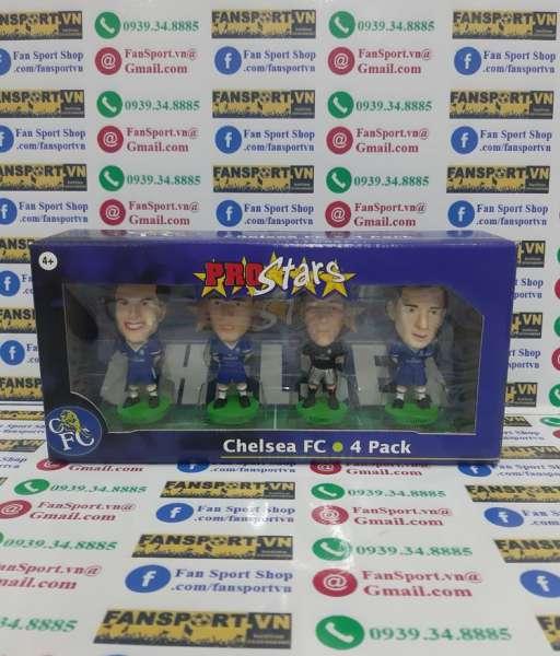 Bộ 4 tượng Chelsea 2002-2003-2004 Bridge Parker Lampard Terry FF
