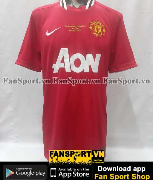 Áo Manchester United testimonial Harry Gregg 2012 home shirt jersey