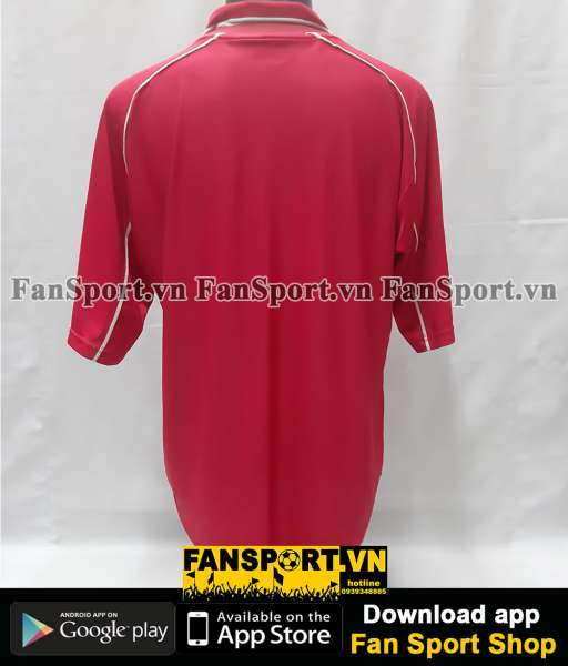Áo đấu Liverpool UEFA Cup final 2001 home shirt jersey red 2000 2002