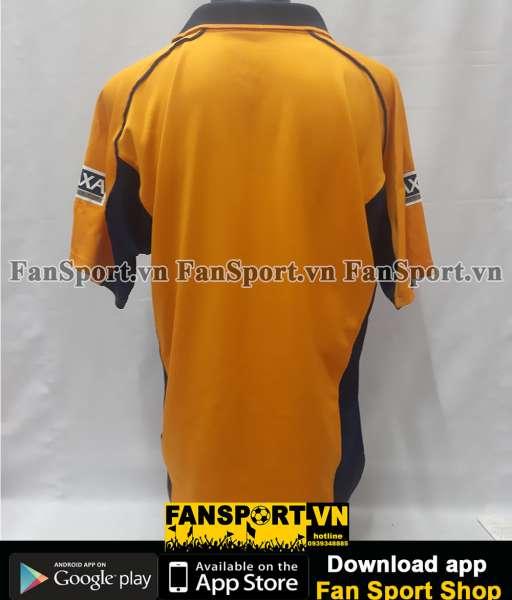 Áo đấu Liverpool FA Cup final 2001 away shirt jersey yellow 2000 2002
