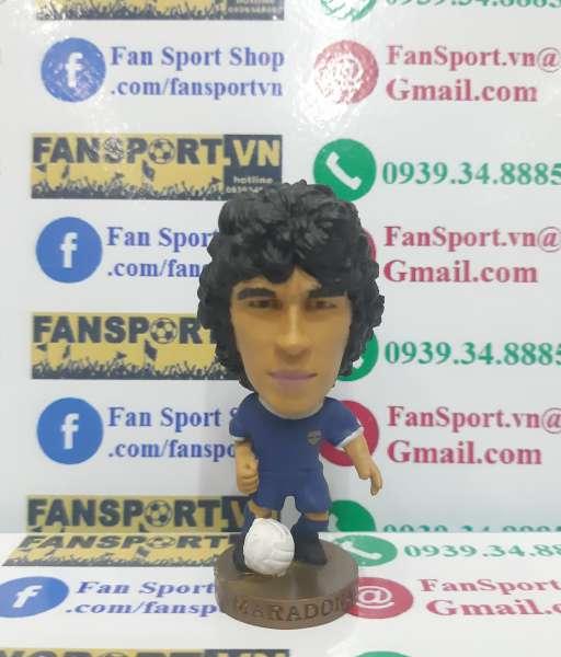 Tượng Diego Maradona 10 Argentina 1986 world cup away corinthian figur
