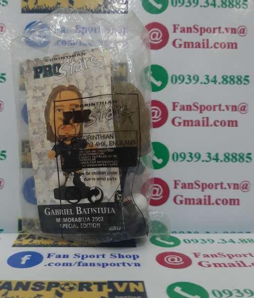 Tượng Gabriel Batistuta 9 Argentina 2002-2003 away corinthian figures