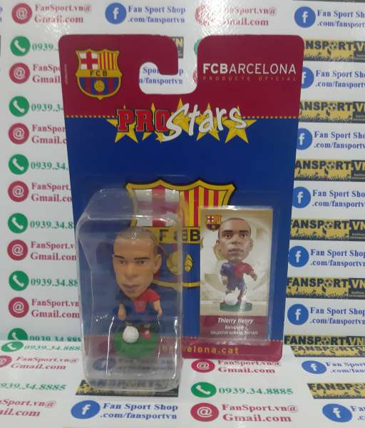 Tượng Henry 14 Barcelona 2008-2009 home corinthian PRO1823 blister