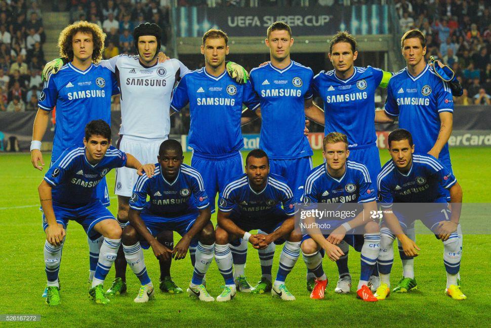 Áo đấu Chelsea 2013-2014 home shirt jersey blue