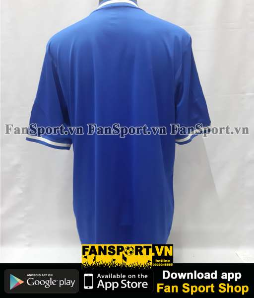 Áo đấu Chelsea UEFA Super Cup 2013 home shirt jersey blue 2014