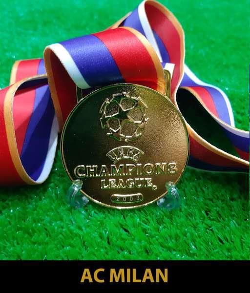 2003 Champion League AC Milan gold medal final huy chương vô địch