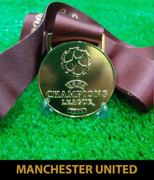 2008 Champion League Man United gold medal final huy chương vô địch