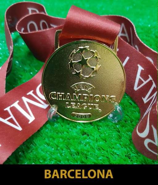 2009 Champion League Barcelona gold medal final huy chương vô địch