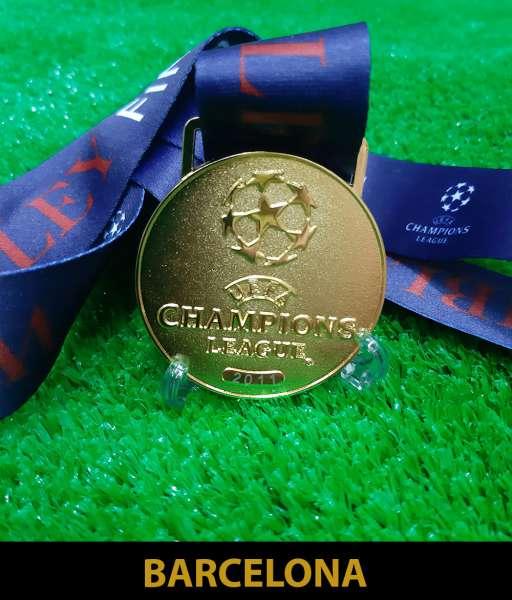 2011 Champion League Barcelona gold medal final huy chương vô địch