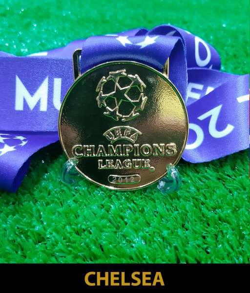 2012 Champion League Chelsea gold medal final huy chương vô địch