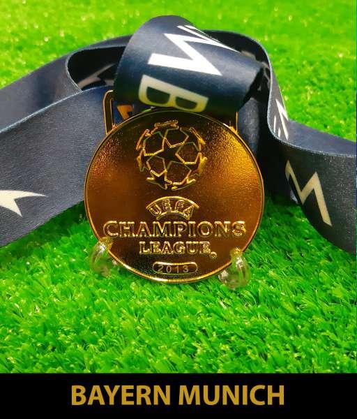2013 Champion League Bayern Munich gold medal final huy chương vô địch