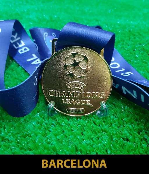 2015 Champion League Barcelona gold medal final huy chương vô địch
