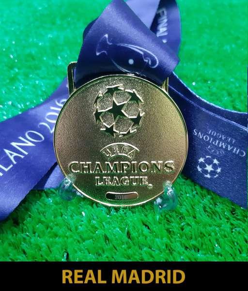 2016 Champion League Real Madrid gold medal final huy chương vô địch