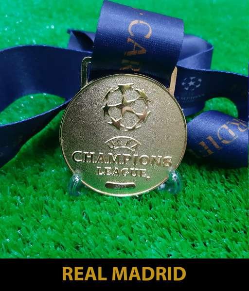2017 Champion League Real Madrid gold medal final huy chương vô địch
