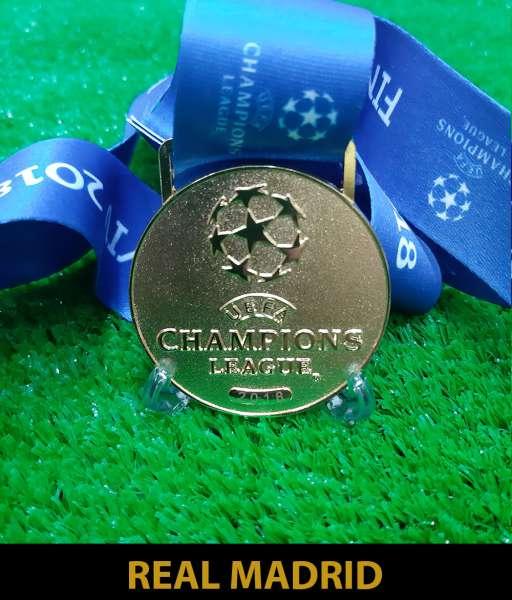 2018 Champion League Real Madrid gold medal final huy chương vô địch