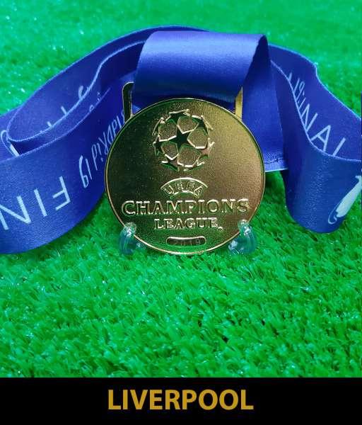 2019 Champion League Liverpool gold medal final huy chương vô địch