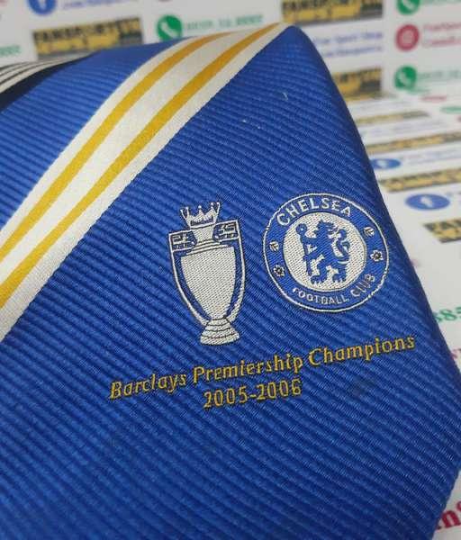 Cà vạt Chelsea 2005-2006 Premier League champions tie red