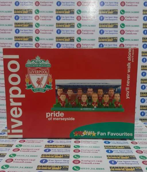 Bộ tượng Liverpool 2003-2004 Fan Favourites Prostar box set