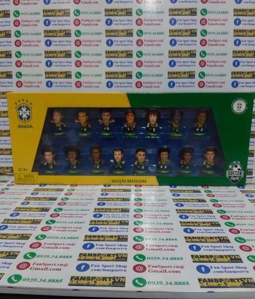 Bộ tượng Brazil World Cup 2014 soccerstarz box set figures 2015