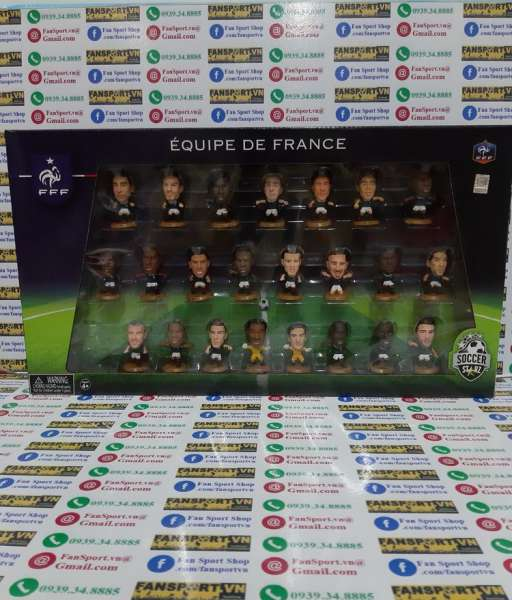 Bộ tượng France World Cup 2014 soccerstarz box set figures 2015 2016