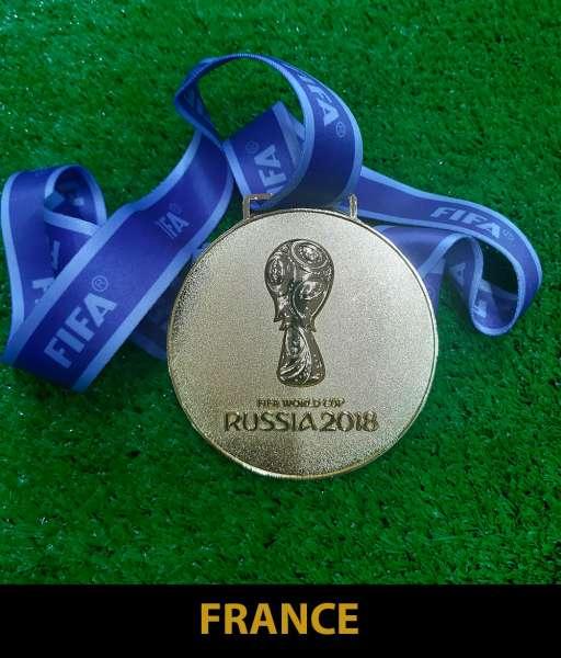 2018 World Cup Russia France gold medal final huy chương vô địch