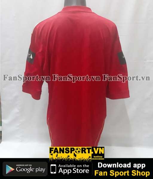 Áo đấu Liverpool League Cup Final 2002 home shirt jersey red 2000 2001