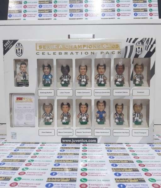 Box Juventus 2004-2005 Serie A Chapions celebration corinthian 1347