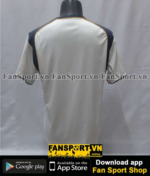 Áo đấu Liverpool UEFA Super Cup 2001 away shirt jersey 2002 2003 white
