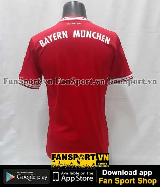 Áo Bayern Munich Champion League final 2013 home shirt jersey 2014 red