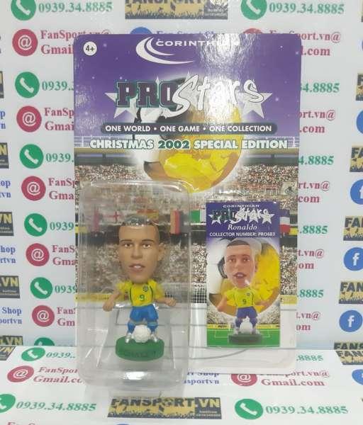 Tượng Ronaldo 9 Brazil 2002-2004 corinthian figure blister
