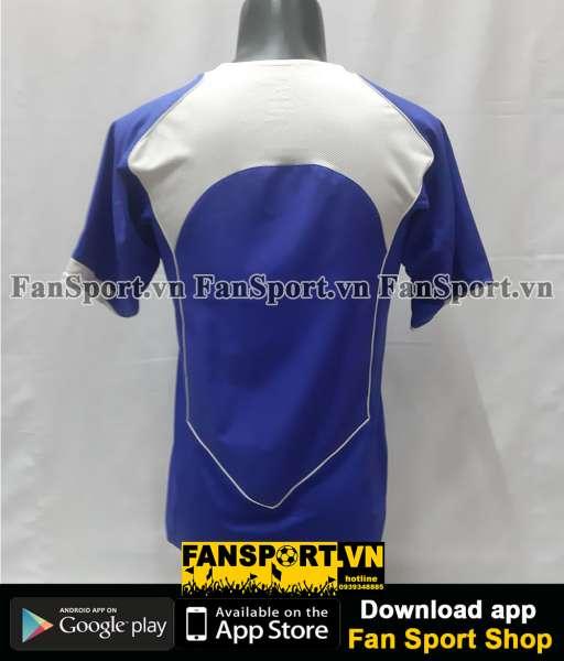 Áo đấu Brazil 2004-2005-2006 away shirt jersey blue